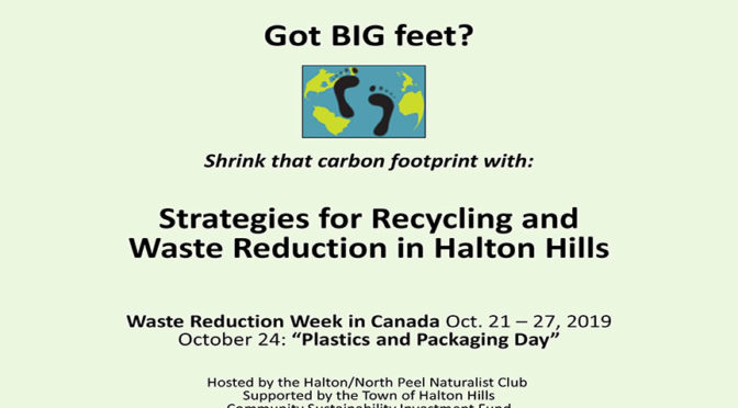 Strategies on Recycling & Waste Reduction in Halton Hills